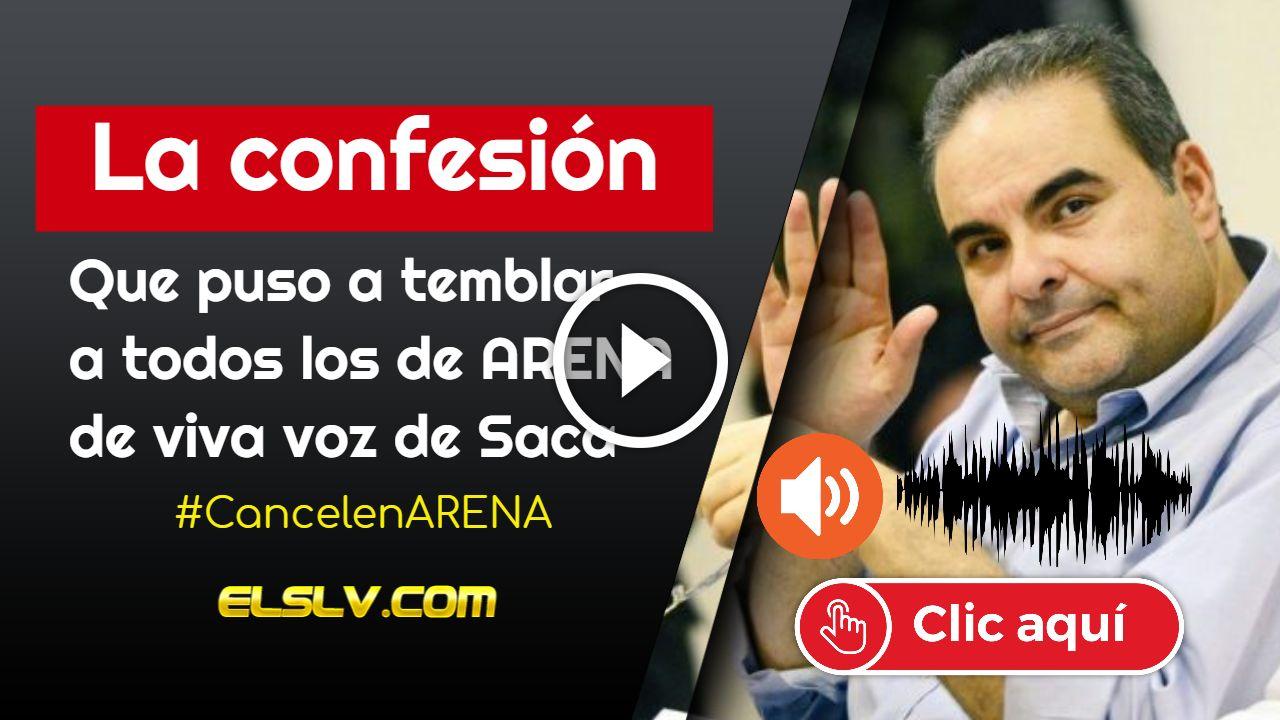 Audio confesión de Saca