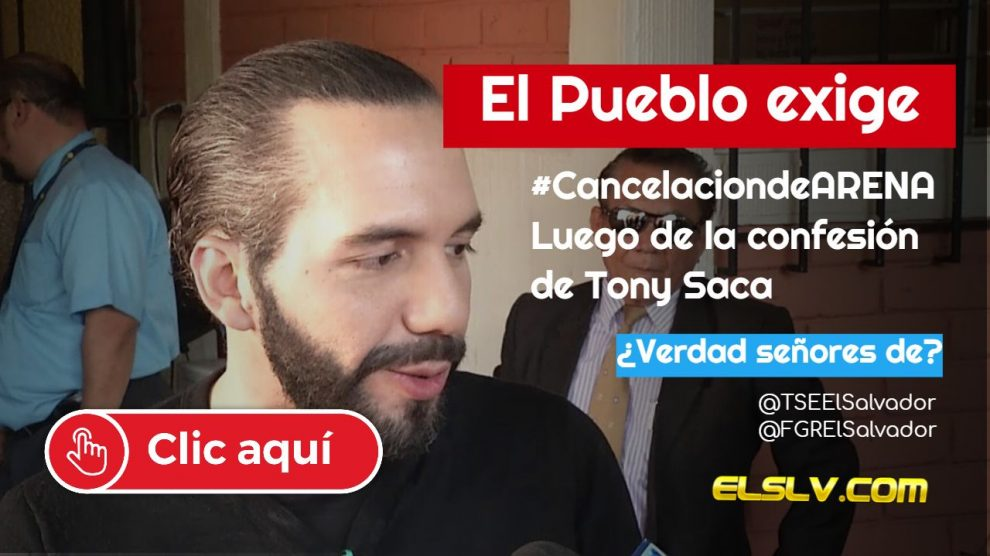 #CancelacionARENA