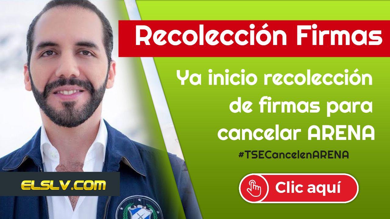#FirmasCancelarARENA