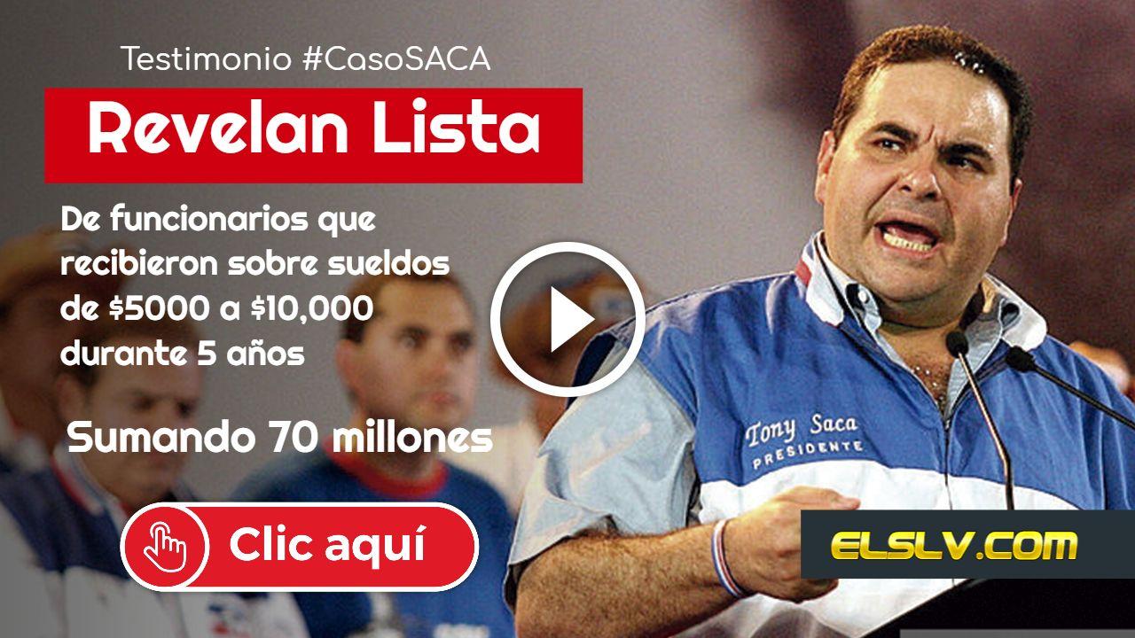 #CasoSaca