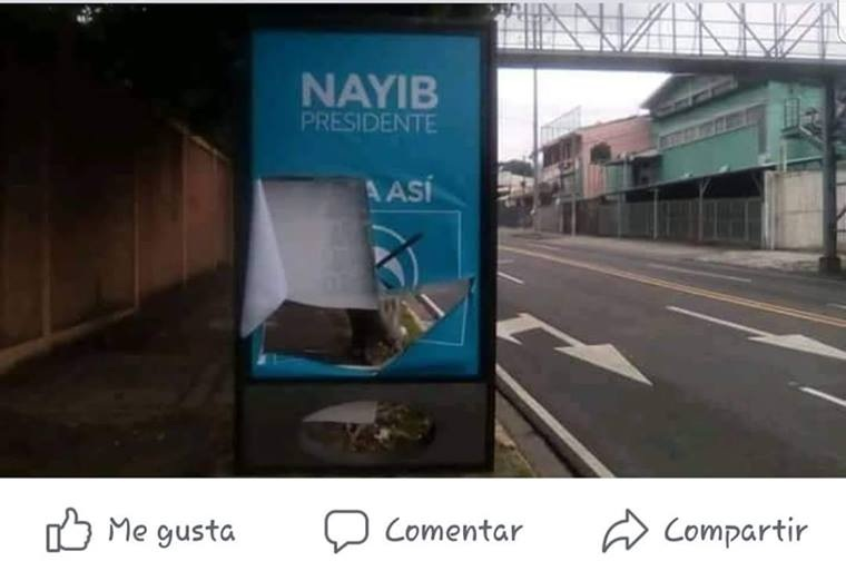 Vandalismo de ARENA